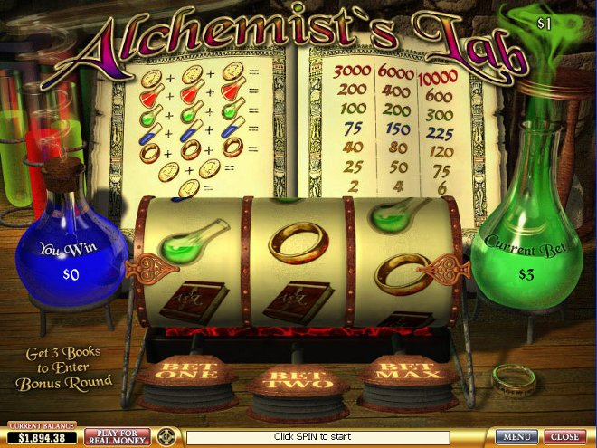 Alchemists Lab Slot
