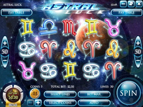 Astral Luck Slot Machine