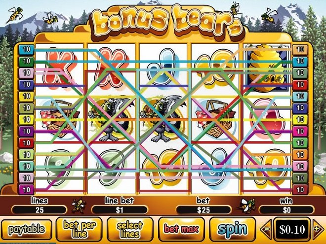 Free multi line slot machine games