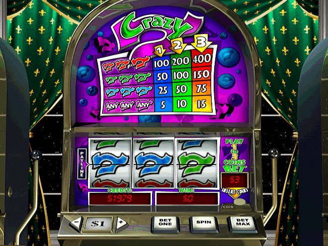 Crazy 7 Slot Machine