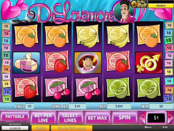 Dr Lovemore Slot Machine