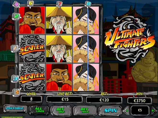 Ultimate Fighters Slot Machine