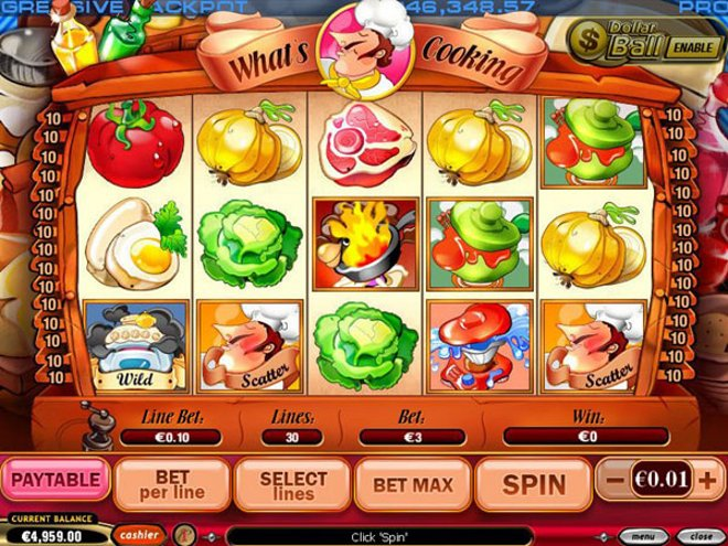 What's Cooking Slot Machine